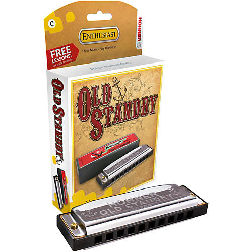Hohner Old Standby Harmonica-thumbnail