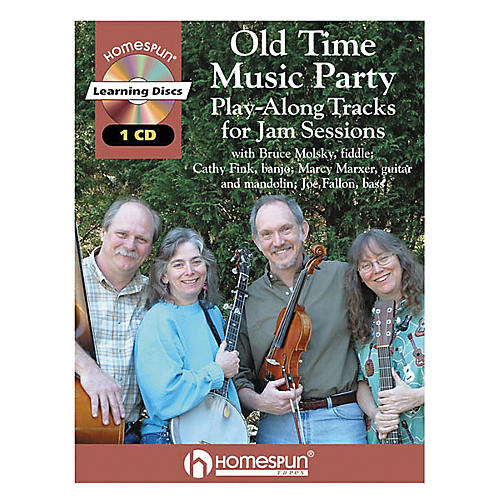 Homespun old time music party book cd musician 39 s friend for Classic house party songs