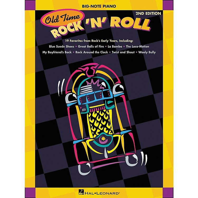 Hal LeonardOld Time Rock N Roll for Big Note Piano 2nd Edition