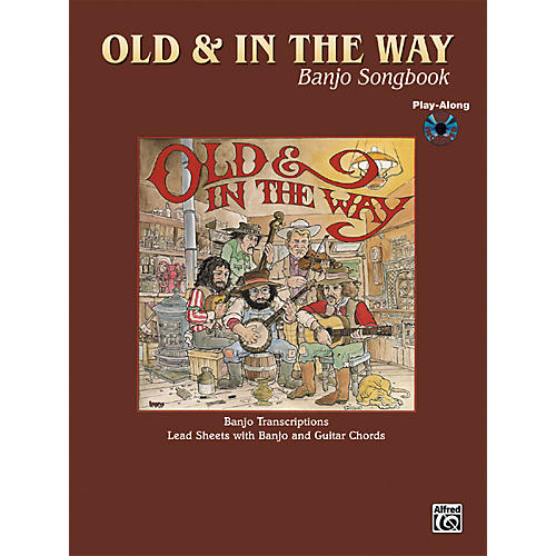 Alfred Old and In The Way Banjo & Guitar Chord Book with CD-thumbnail