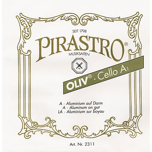 Pirastro Oliv Series Cello C String 4/4 - 36-1/2 Gauge