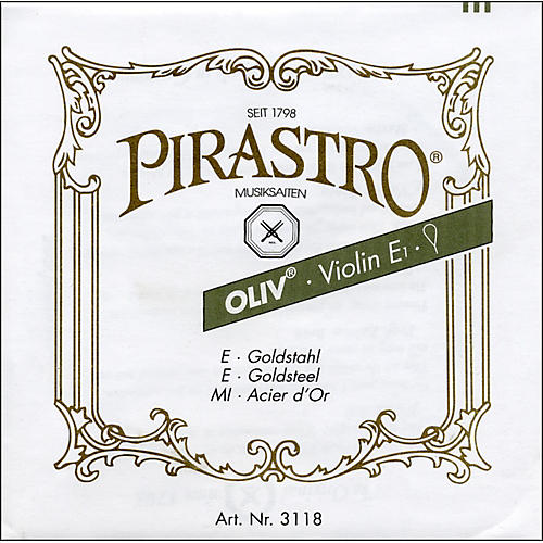 Pirastro Oliv Series Violin String Set 4/4 - E String Ball End