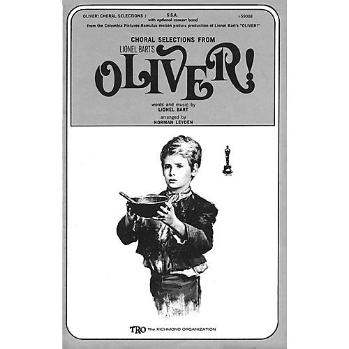 TRO ESSEX Music Group Oliver! (Choral Selections) SATB Arranged by Norman Leyden-thumbnail