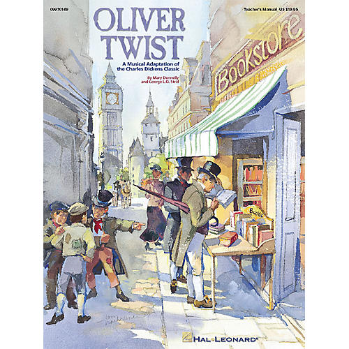 Hal Leonard Oliver Twist - A Musical Adaptation of the Charles Dickens Classic (Musical) TEACHER ED by Mary Donnelly-thumbnail