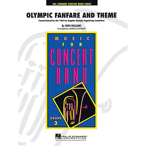 Hal Leonard Olympic Fanfare and Theme - Young Concert Band Series Level 3 arranged by James Curnow-thumbnail