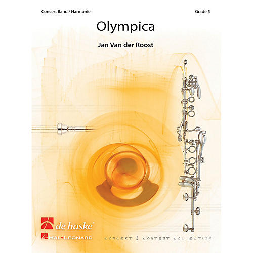 Hal Leonard Olympica Score Only Concert Band-thumbnail