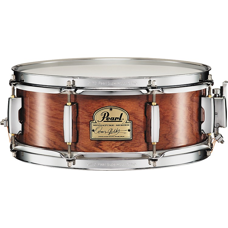 Pearl Omar Hakim Signature Snare Drum  13x5 Inches