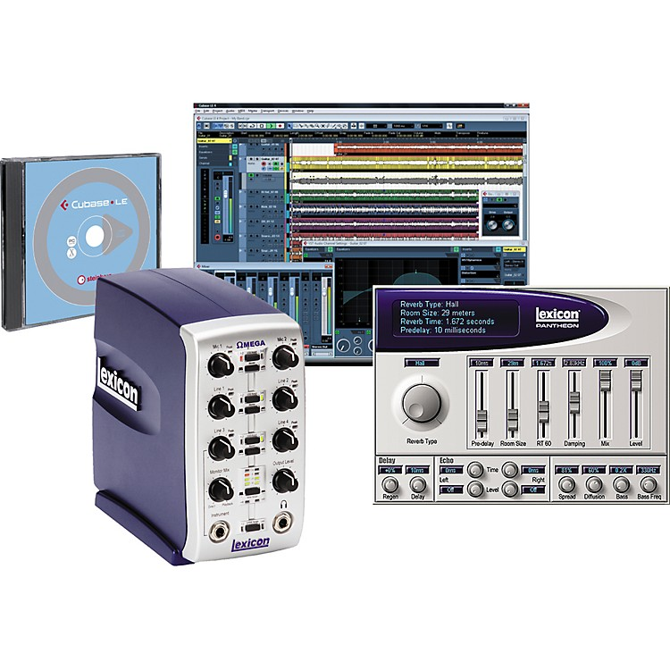 LexiconOmega Desktop Recording Studio Bundle