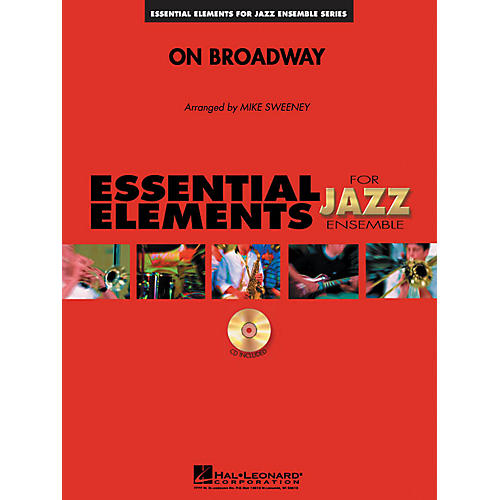 Hal Leonard On Broadway Jazz Band Level 1-2 Composed by Michael Sweeney-thumbnail