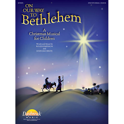 Daybreak Music On Our Way to Bethlehem (A Christmas Musical for Children) CD 10-PAK by John Jacobson/Roger Emerson-thumbnail