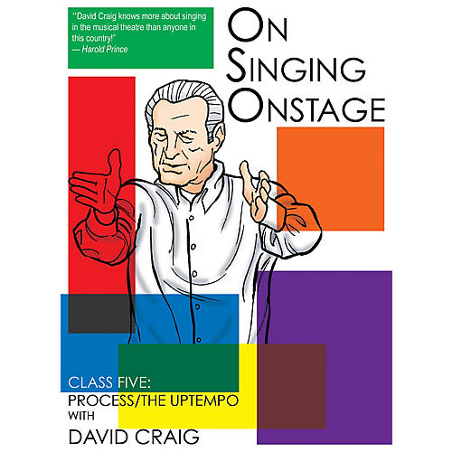 Applause Books On Singing Onstage (Class Five: Process/The Uptempo) Applause Acting Series Series DVD by David Craig-thumbnail