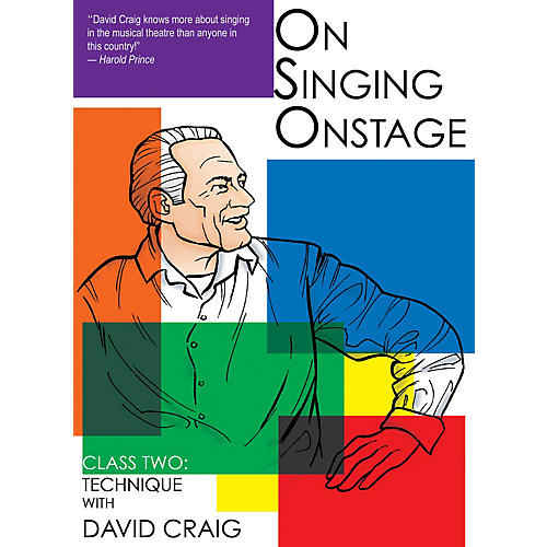 Applause Books On Singing Onstage (Class Two: Technique) Applause Acting Series Series DVD Written by David Craig-thumbnail