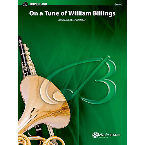 BELWIN On a Tune of William Billings Concert Band Grade 2 (Easy)-thumbnail