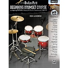 Alfred On the Beaten Path Beginning Drumset Course Complete Book & DVD ROM