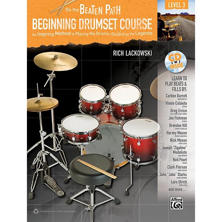 AlfredOn the Beaten Path: Beginning Drumset Course Level 3 Book/CD