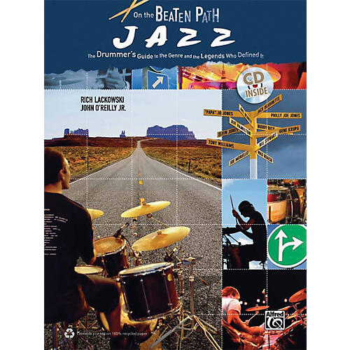 Alfred On the Beaten Path Jazz (Book & CD)