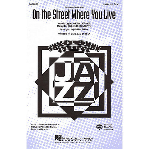 Hal Leonard On the Street Where You Live (from My Fair Lady) SSA Arranged by Kirby Shaw-thumbnail