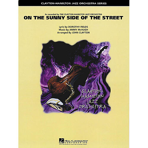 Hal Leonard On the Sunny Side of the Street (Trombone Section Feature) Jazz Band Level 5 Arranged by John Clayton-thumbnail