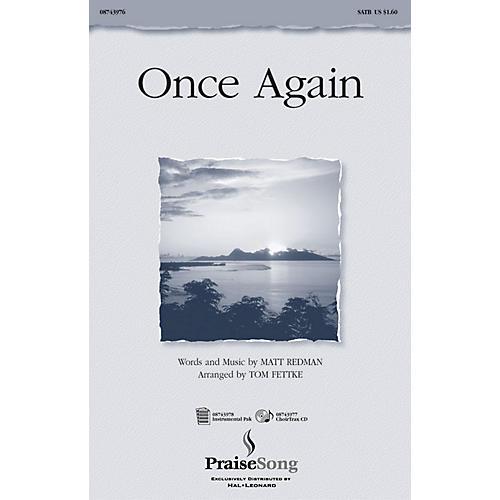 PraiseSong Once Again IPAKO Arranged by Tom Fettke-thumbnail