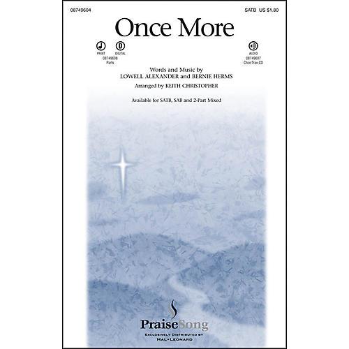 Hal Leonard Once More SATB-thumbnail