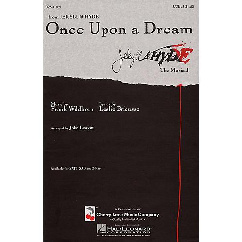Cherry Lane Once Upon a Dream SATB arranged by John Leavitt-thumbnail