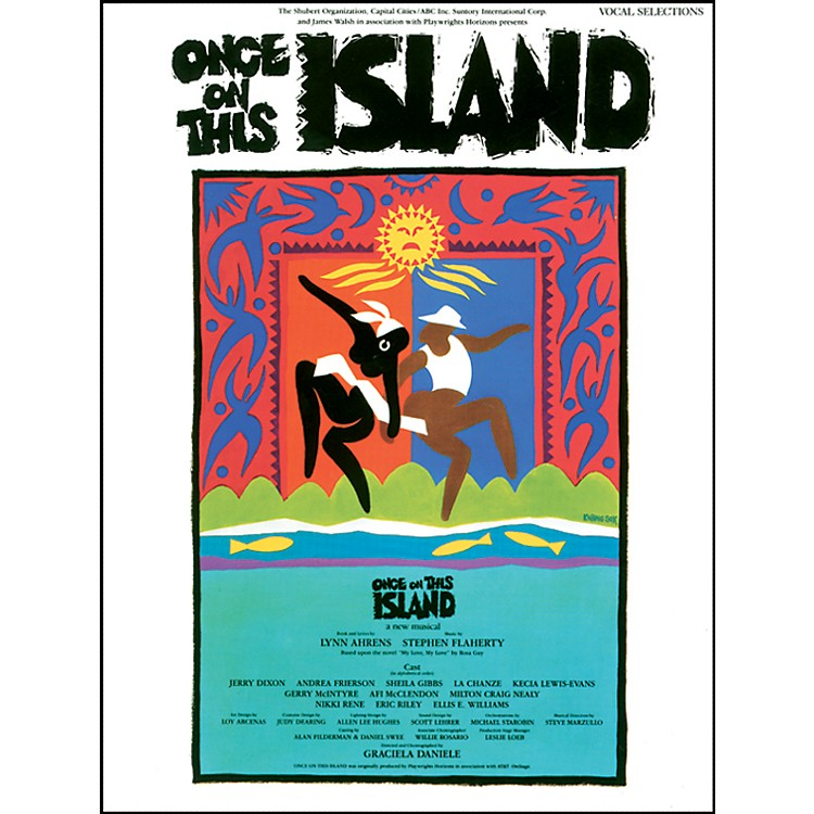 Alfred Once on This Island: Vocal, Piano/Chord Book