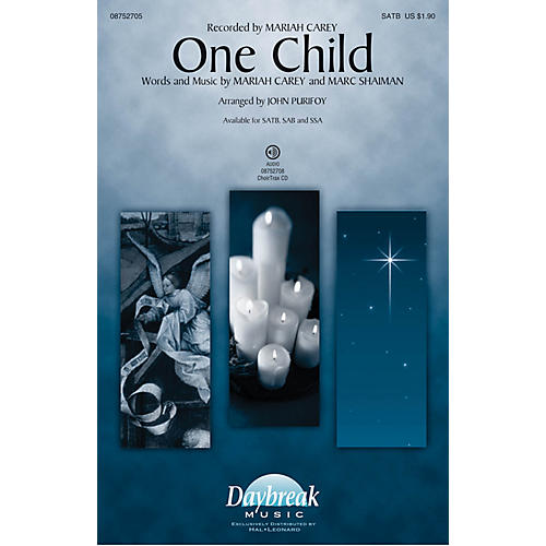 Daybreak Music One Child SAB by Mariah Carey Arranged by John Purifoy-thumbnail