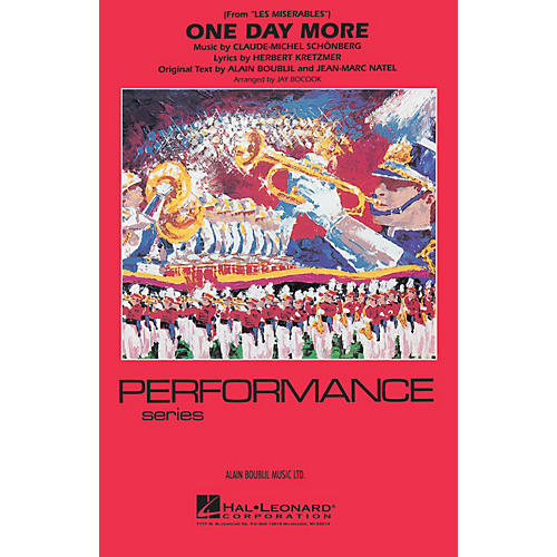 Hal Leonard One Day More (from Les Misérables) Marching Band Level 3-4 Arranged by Jay Bocook-thumbnail