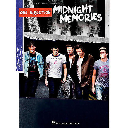 Hal Leonard One Direction - Midnight Memories Piano/Vocal/Guitar Songbook-thumbnail