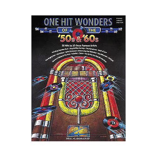 Hal Leonard One Hit Wonders of the '50s & '60s Piano, Vocal, Guitar Songbook