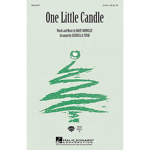 Hal Leonard One Little Candle (ShowTrax CD) ShowTrax CD Composed by Mary Donnelly-thumbnail