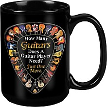 Taboo One More Guitar Black Mug 15 oz