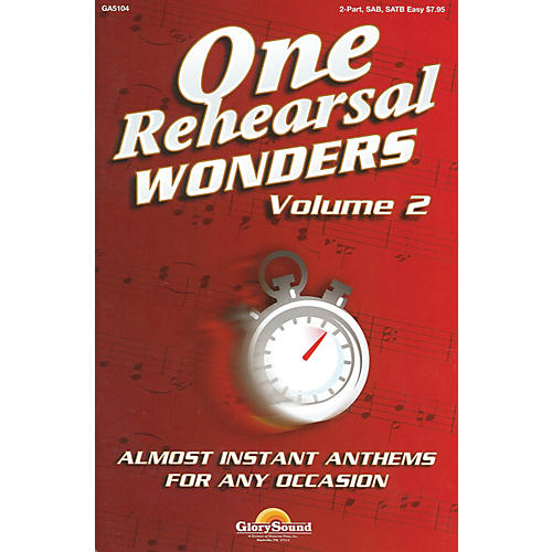 Shawnee Press One Rehearsal Wonders - Volume 2 (SATB) SATB composed by Various-thumbnail