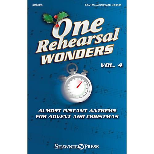 Shawnee Press One Rehearsal Wonders, Vol. 4 - Advent and Christmas Studiotrax CD Arranged by Various-thumbnail