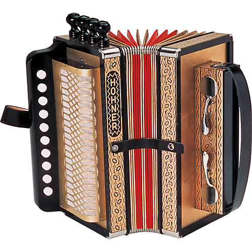 Hohner One Row Cajun Accordion