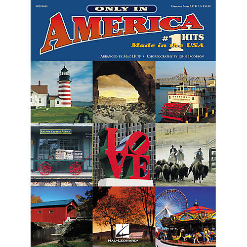 Hal Leonard Only in America (Choral Medley) (# 1 Hits Made in the U.S.A.) SAB Singer Arranged by Mac Huff-thumbnail
