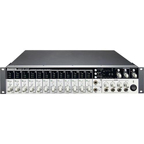 Mackie Onyx 1200F Studio Recording Preamp and 192kHz FireWire Interface