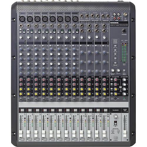Mackie Onyx 1620 16-Channel Mixer