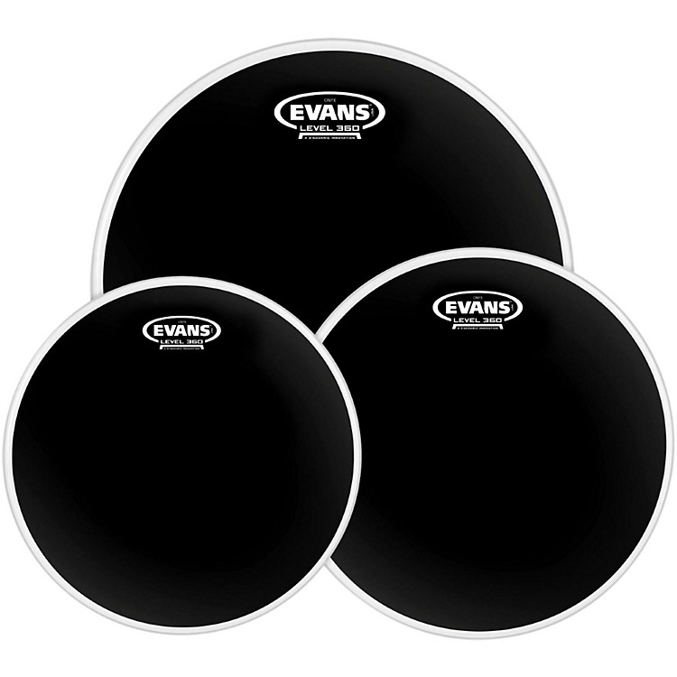 Evans Onyx 2 Drumhead Pack Fusion - 10/12/14