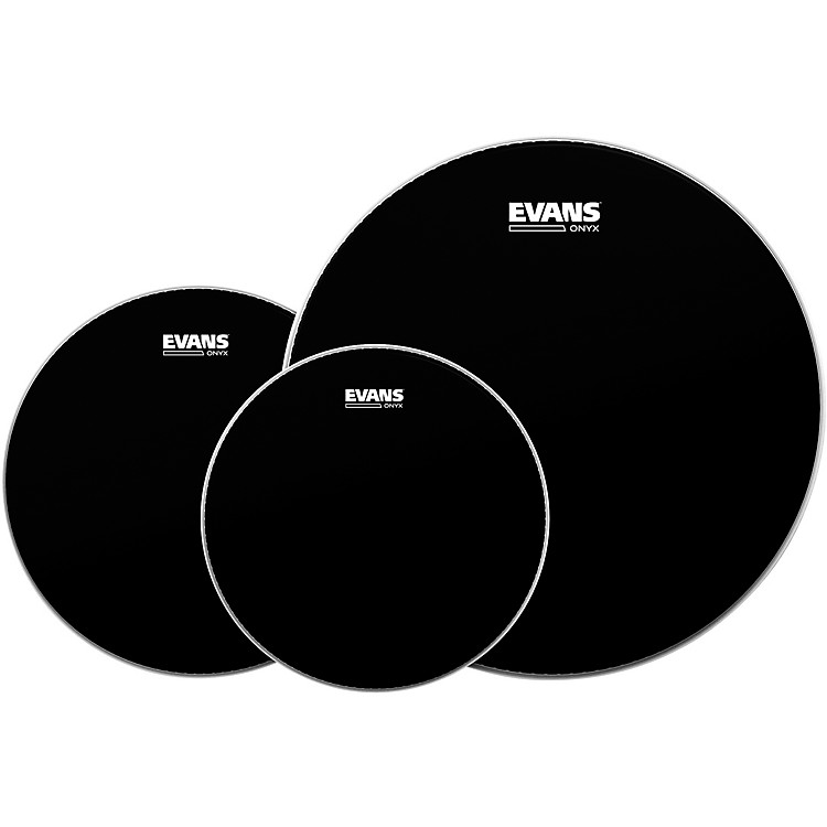 EvansOnyx 2 Drumhead PackRock - 10/12/16