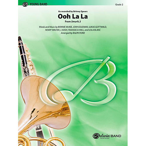 Alfred Ooh La La (from Smurfs 2) Concert Band Level 2 Set-thumbnail