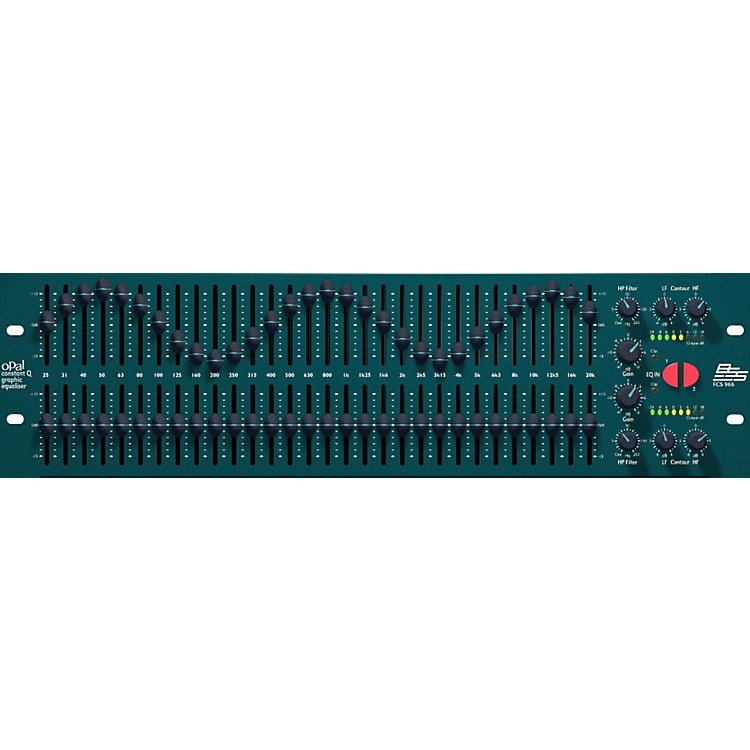 BSS AudioOpal FCS-966 Graphic Equalizer