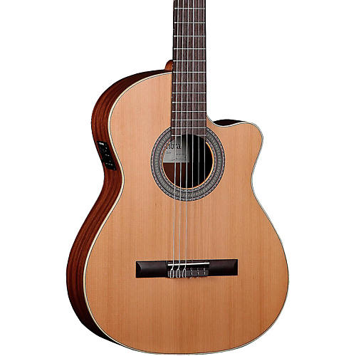 Open Box Alhambra 1O P CW Classical Acoustic-Electric Guitar