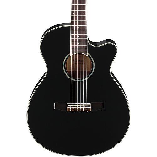 Open Box Ibanez AEG10NII Nylon String Cutaway Acoustic-Electric Guitar