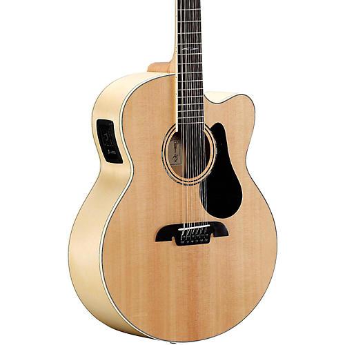 open box alvarez aj80ce 12 12 string jumbo acoustic electric guitar natural 190839292889. Black Bedroom Furniture Sets. Home Design Ideas