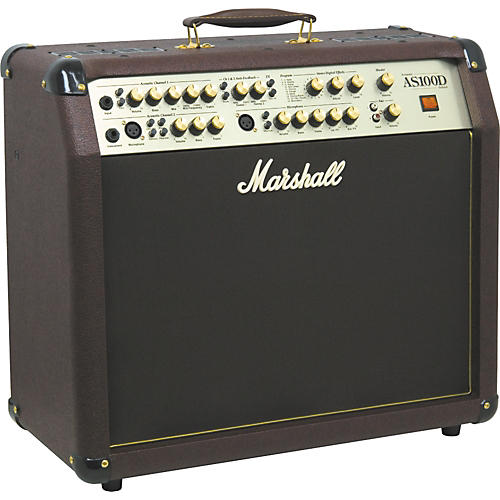 Open Box Marshall AS100D 2x8 Acoustic Combo Amp