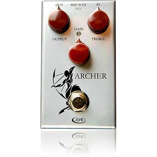 Open Box Rockett Pedals Archer Boost Overdrive Guitar Effects Pedal