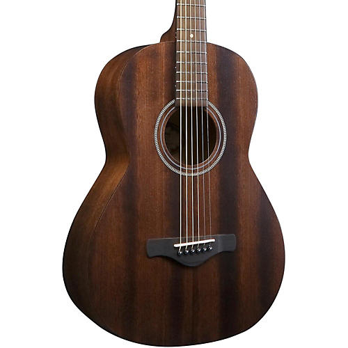 Open Box Ibanez Artwood Vintage AVN2-OPN All-Mahogany Parlor Acoustic Guitar
