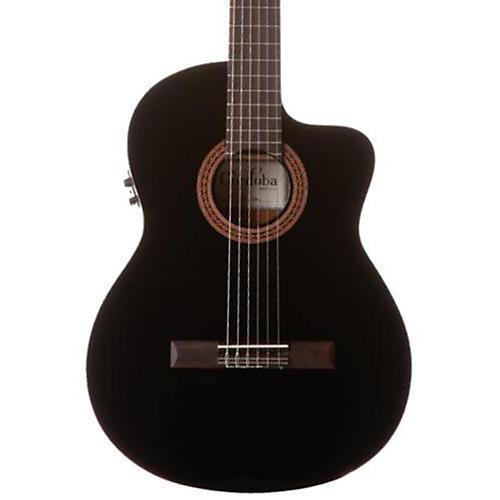 Open Box Cordoba C5-CET Classical Thinline Acoustic-Electric Guitar