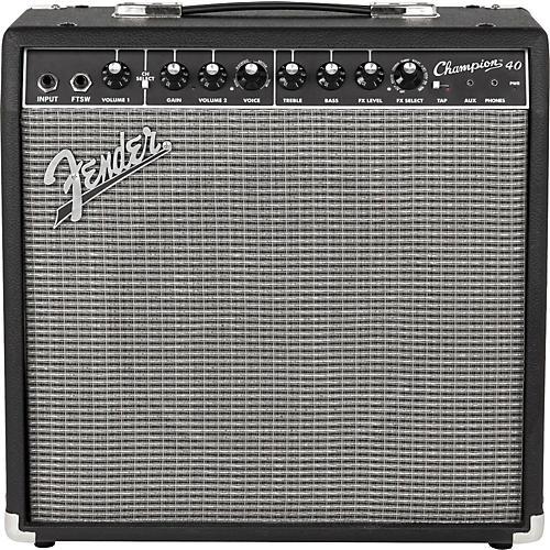Open Box Fender Champion 40 Guitar Combo Amp